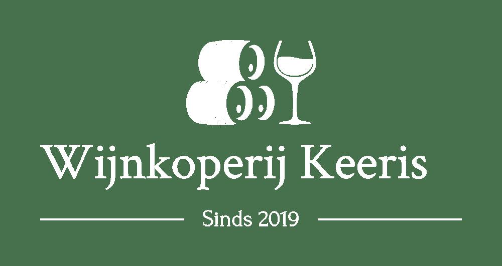 logo wijnkoperij Keeris copy wit footer